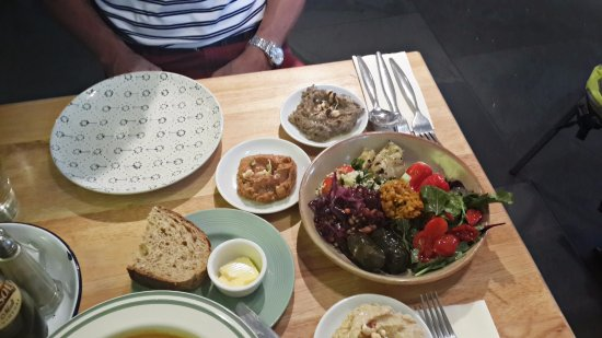 Baba Ganoush: our meal