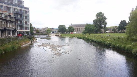 Baba Ganoush: River in Kendal town
