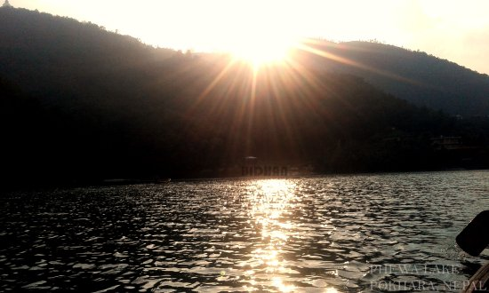 Western Region, เนปาล: This Photo is take in the middle of Phewa Lake during Boating.