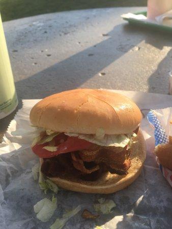 Georgetown, IN: BLT on a bun.