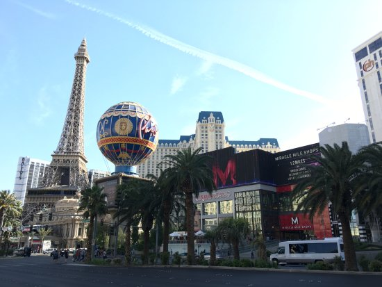 Paris Hotel And Planet Hollywood On The Strip
