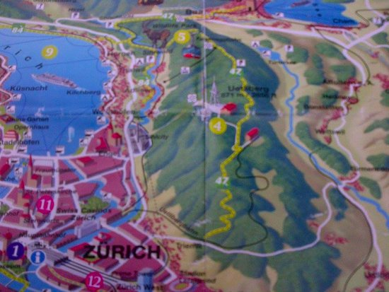 Zurich Leisure Map is all you need Picture of Uetliberg Mountain