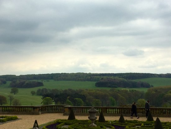Harewood House - surrounding countryside
