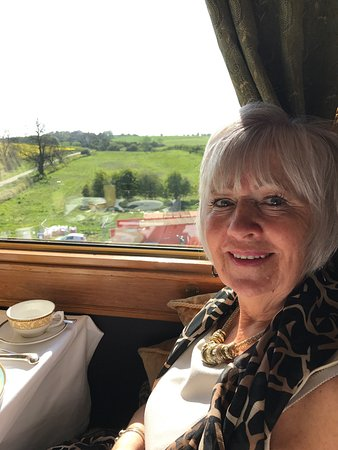 Belmond Northern Belle: Had a beautiful decadent day onboard the Northern Belle for mum's birthday. Excellent food, very