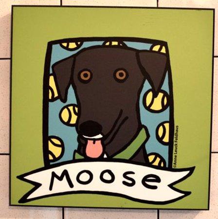 Moose, Moosie's Ice Cream Parlor Mascot, Medford, WI