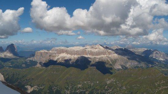 Rocca Pietore, إيطاليا: Panorama da Punta Rocca