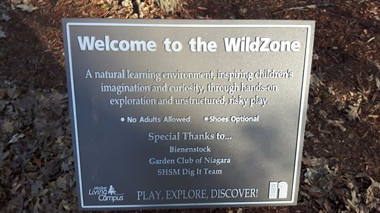 St. Catharines, Canada: Welcome to the WildZone