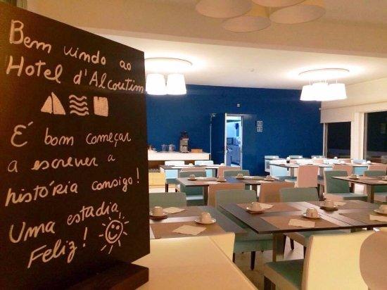 Alcoutim, Portugalia: Um café da manhã excelente!