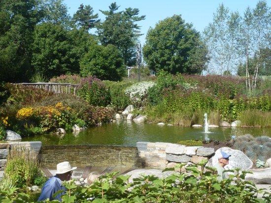 Boothbay, Μέιν: Coastal Maine Botanical Garden: