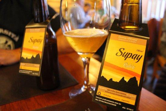 La Tapera: birra locale
