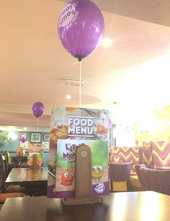 Waterlooville, UK: New menu launch day 29th march