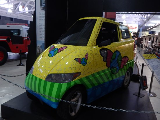 1999 Tango Electric Car Picture Of San Diego Automotive Museum