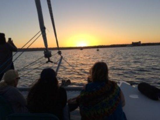 Fun Cat Sailing Catamaran Adventures: Fun Cat Sailing Adventures sunset sail 4/30/17