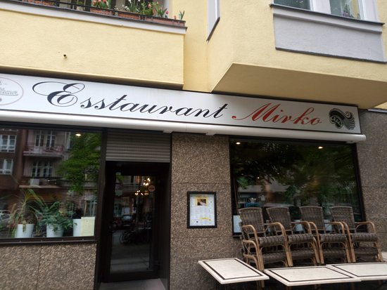 Esstaurant Mirko: Outside view