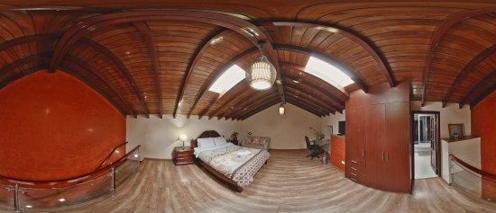 Rincon Familiar Hostel Boutique.: Loft deluxe, segundo piso. Rincón Familiar Hostel Boutique. Vista 360 grados.