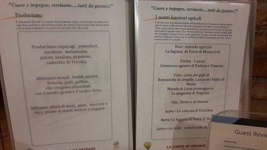 Trivignano, Italy: Agriturismo da Merlo