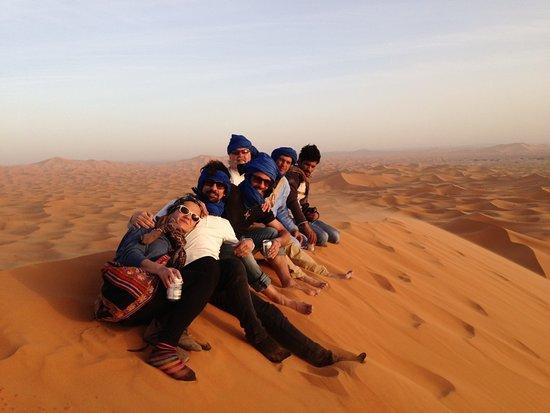 حاسي الأبيض, المغرب: Desde la gran duna disfrutando de un maravilloso paisaje.