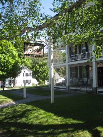 Grafton, VT: Fabulous porch for reading, relaxing, and visiting