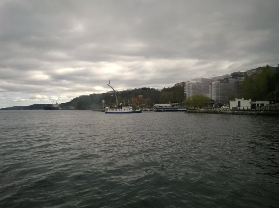 Nacka, Sweden: Seen from a boat