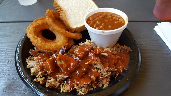 Jacksonville, AL : BBQ plate