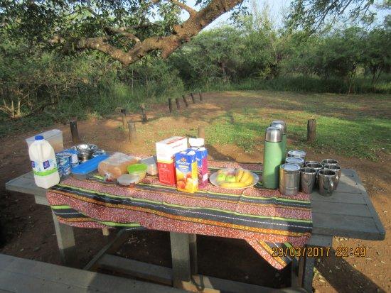 Сент-Люсия, Южная Африка: Breakfast!