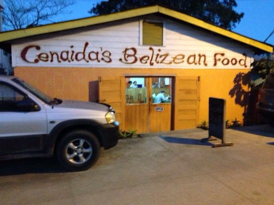 Cenaida's: The new Cenaidas is located just behind the old location that burned down in 2016.