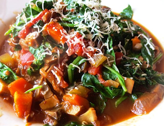 Westborough, ماساتشوستس: Spaghetti squash bolognese