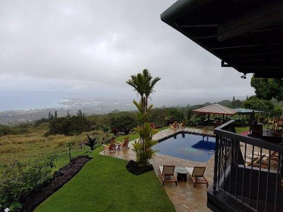 Holualoa, HI: View of Ocean.