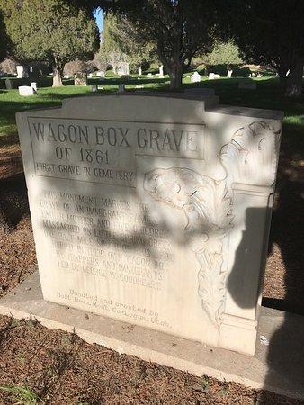 Soda Springs, Idaho: Fairview cemetery