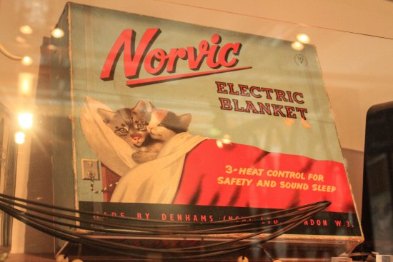 Coventry, UK: Who would forget purchasing their first electric blanket