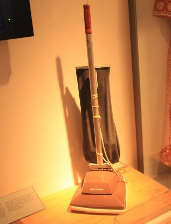Coventry, UK: Old type of vacuum cleaners