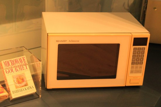 Coventry, UK: Early microwaves are now museum pieces