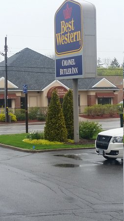 Best Western Colonel Butler Inn: 20170506_092027_large.jpg