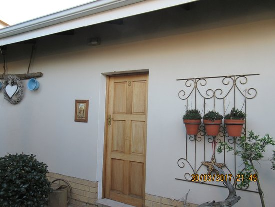 Piet Retief, Sydafrika: entrance to our room