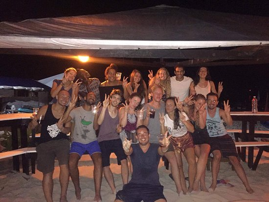 Tipsy Tiger Party Hostel: Tipsy Tiger friends continuing our travels to the Perhentian Islands, with Alex too!