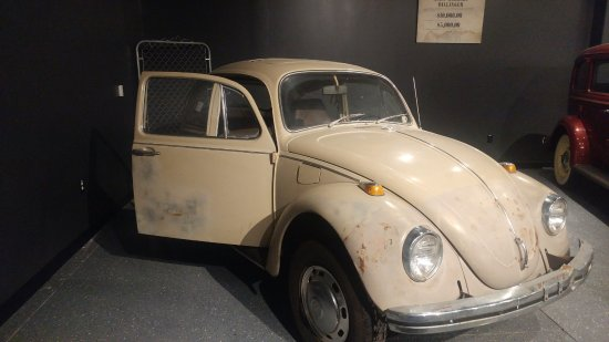 Ted Bundy S Vw Bug Picture Of Alcatraz East Crime Museum