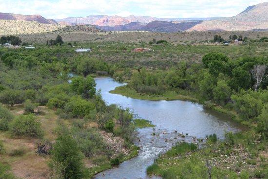 Clarkdale, AZ: Verde river suns 140 miles from Ashfork to Bartlett Dam
