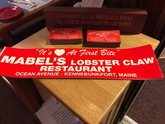 Mabel's Lobster Claw: photo1.jpg