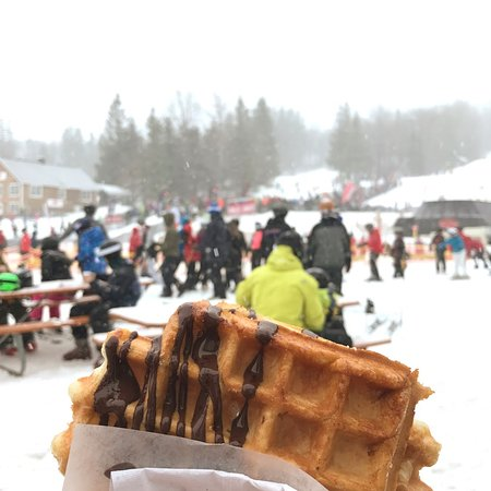 Stratton Mountain, Вермонт: These Waffles Are EVERYTHING