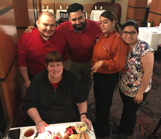 Great Neck, NY: Happy Birthday Helene from the OUTSTANDING team.