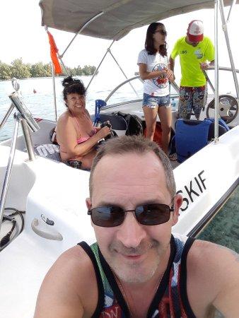 Vaiare, Fransk Polynesien: tour privée bateau