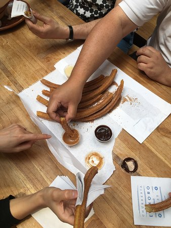 Sabores Mexico Food Tours: Yummy churros!