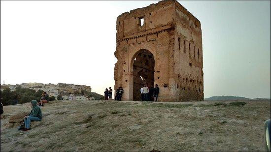 Tombe dei Merenidi: Views....