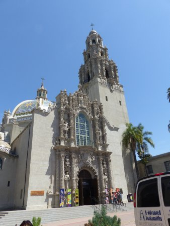 San Diego Museum of Man: Shot from outside of museum