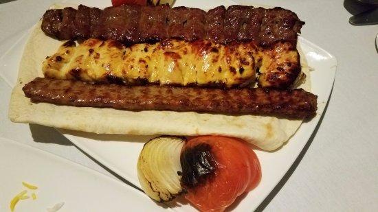 Elmsford, NY: 3 meat Kabob