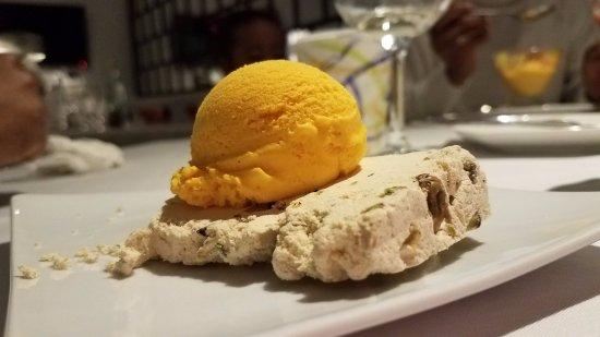 Elmsford, NY: Halva and Safron Ice Cream