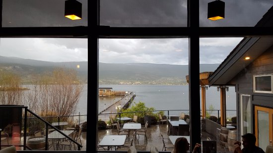 Summerland, Canada: view from the restaurant
