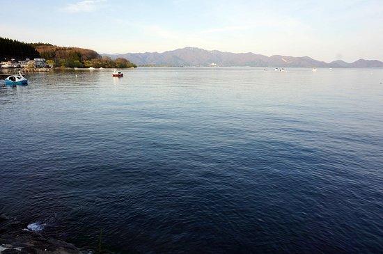 Fukushima Prefecture, Japan: 海のように広く感じます。