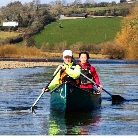 Glasbury-on-Wye, UK: Wye Valley Canoes
