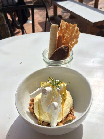 Café Haaïtza : Menu déjeuner (34€) dessert : estima citron
